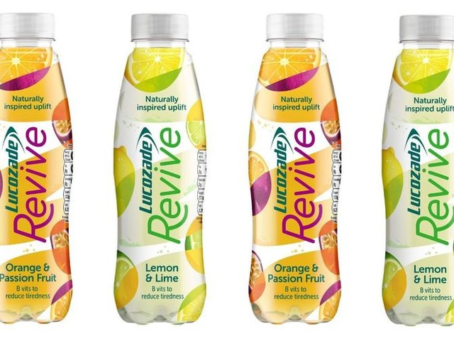 Fruit-Forward Energy Drinks - The Lucozade Revive Drink Targets a Different Kind of Consumer (TrendHunter.com)
