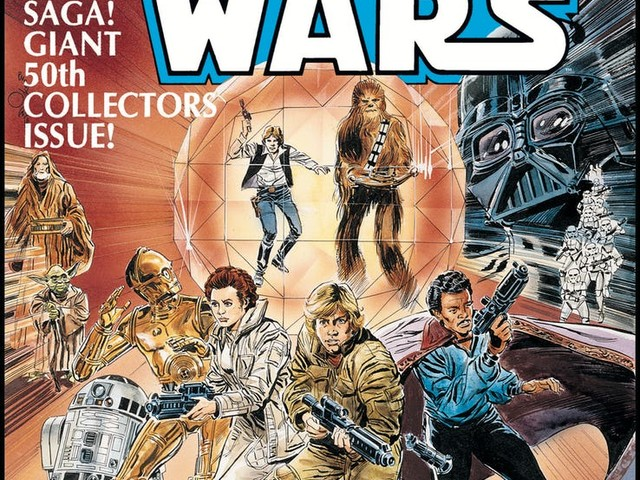 Marvel Celebrates 80th Anniversary with Special Release of 1977 Star Wars #50 Comic Book