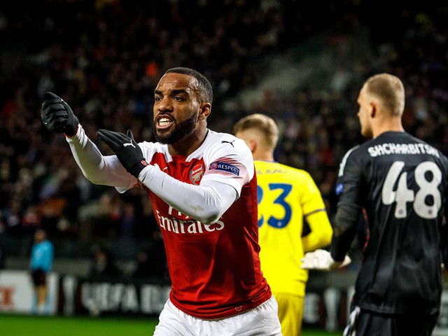 Gary Neville heaps praise on Arsenal captain Pierre-Emerick Aubameyang and claims he is a Premier League great