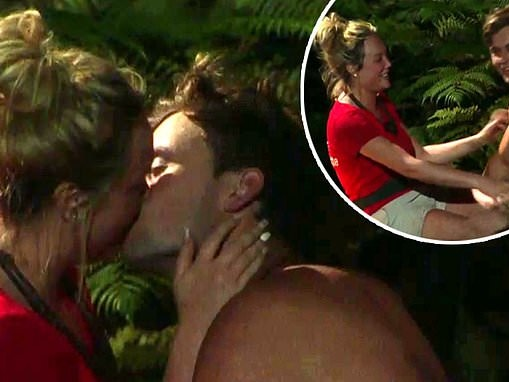 I'm A Celebrity's Charlotte Crosby and Ryan Gallagher are enjoying 'secret hook-ups'