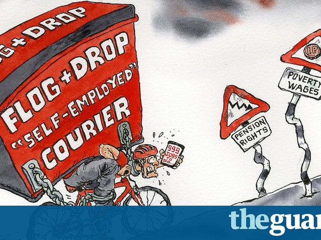 Now is the time to ease the burden for those labouring in the gig economy