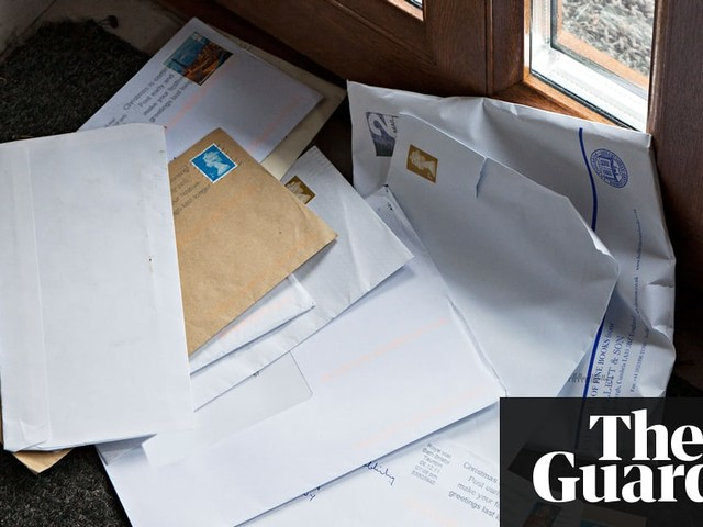 Addressing the issue of being sent threatening letters meant for a previous tenant