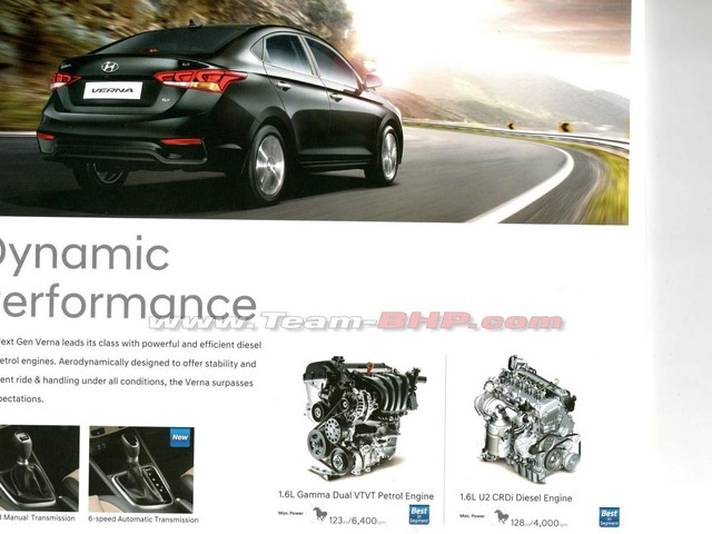 New Hyundai Verna brochure leaked – Feature and Variants detailed