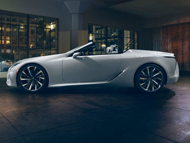 Lexus LC Convertible concept to make production in 2020