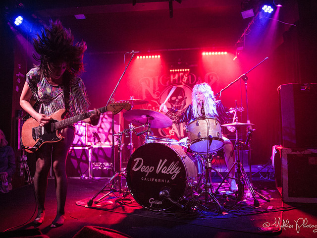 Deap Vally: Derby – live review