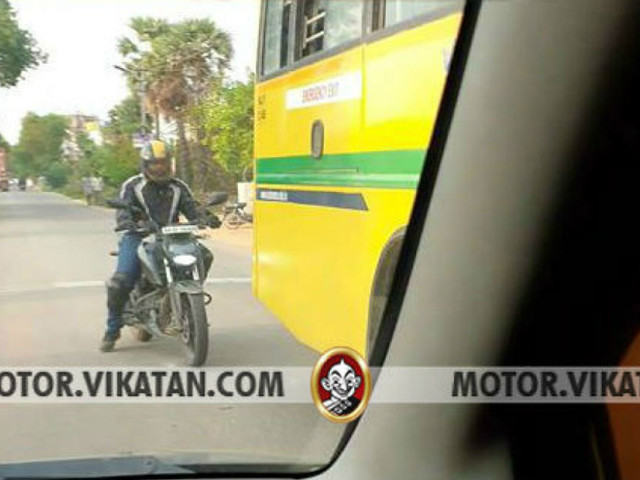 2020 TVS Apache RTR 200 4V BS6 Spied Testing For The First Time