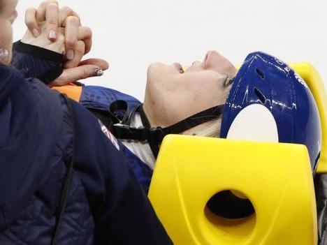 Winter Olympics: Elise Christie making 'good progress' in 1,000m bid