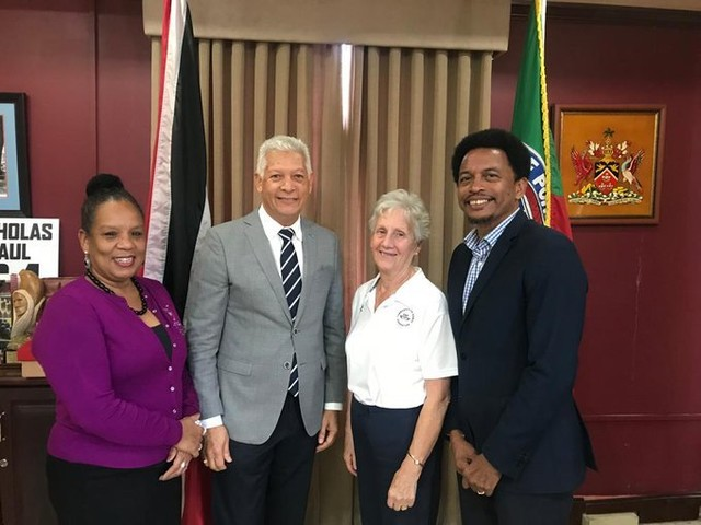 CGF President praises female athletes for role in Trinidad and Tobago 2021 bid
