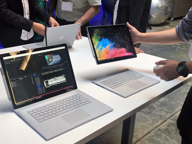 UNVEILED: Microsoft's new MacBook Pro killer — they say it gets 17 hours of battery life (MSFT, AAPL)