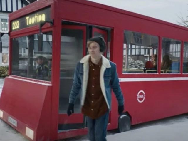 Bus spotters left raging over mistake in John Lewis Christmas advert