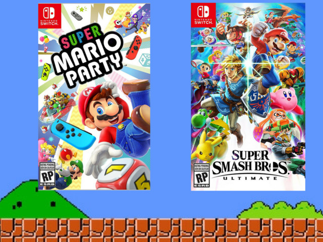 Amazon Prime members save an extra 20% on pre-orders for the new 'Super Smash Bros.' and 'Mario Party' Switch games