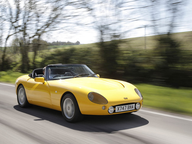 TVR Griffith: revisiting an all-time classic British sports car