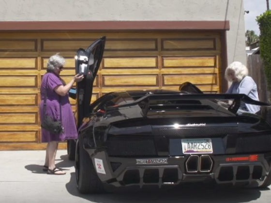 Here's The Funny Thing That Happens When You Give Grannies The Keys To A Lamborghini