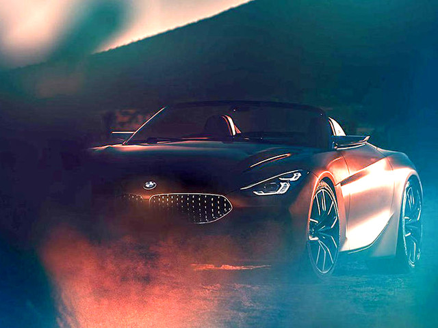 Next-gen BMW Z4 concept partially revealed