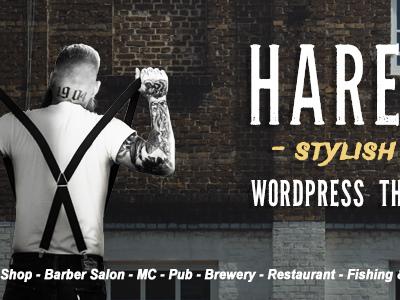 Hares - A Stylish WordPress Theme (Art)