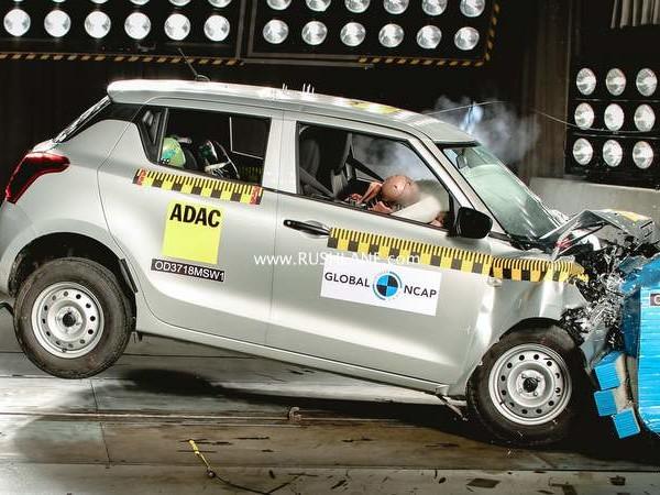 Maruti Swift crash test – Structure unstable, 2 star safety rating, lower than Vitara Brezza