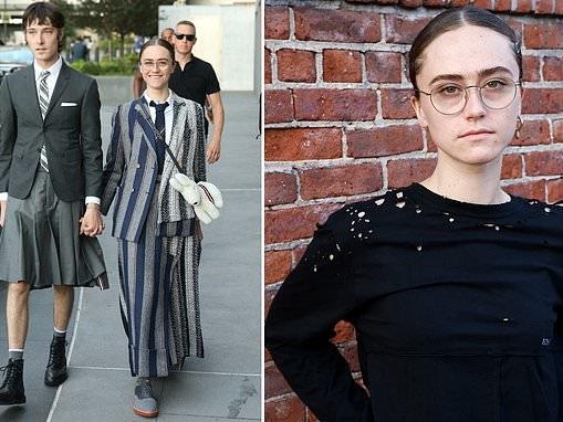 Kamala Harris' model stepdaughter Ella Emhoff steps out withboyfriend Sam Hine at NY Fashion Week
