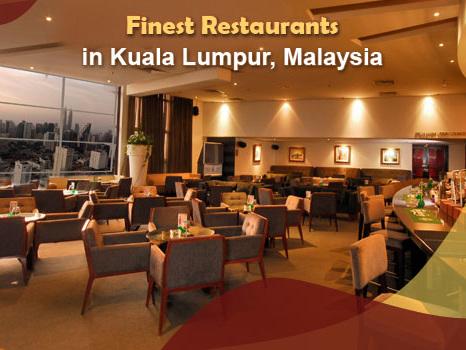 5 Of the Finest Restaurants in Kuala Lumpur, Malaysia