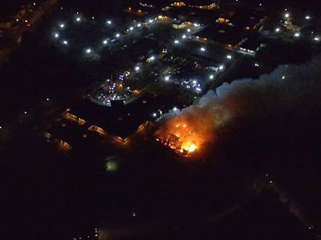Tamworth hospital fire sees 'patient FLEE scene during commotion'