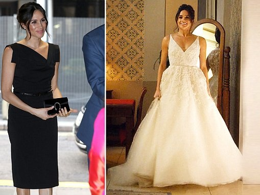 meghan markle has her wedding dress altered after losing