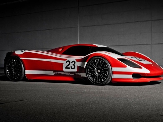 Porsche 917 Concept celebrates 50 years of the 917