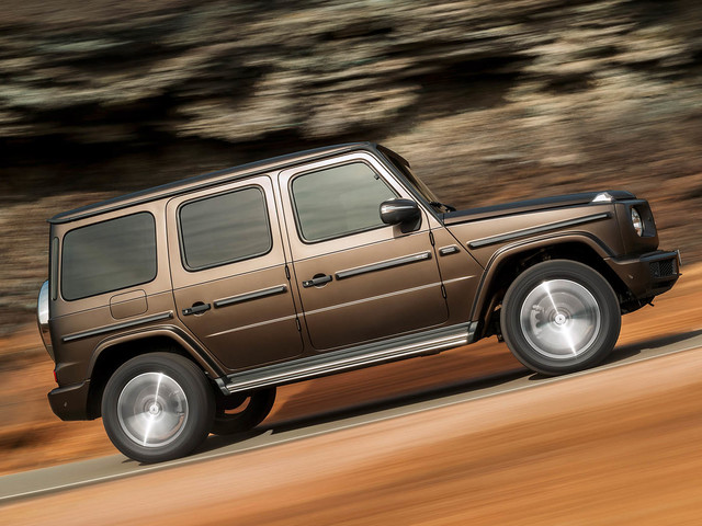 Mercedes-Benz G-Class revealed with more tech, class & ability