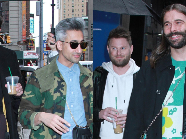 The Guys of 'Queer Eye' Step Out in NYC to Promote Season Three!