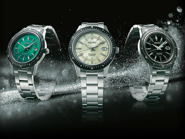 Affordable Retro-Style Timepieces - The New Seiko Presage are Priced at $825 Each (TrendHunter.com)