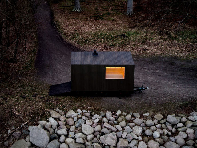 Portable Trailer-Equipped Saunas - The Scandinavian Mobile Sauna Can be Positioned Almost Anywhere (TrendHunter.com)
