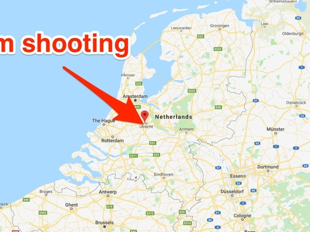 At least 1 person reportedly dead in shooting on a tram in the Netherlands, and police are investigating a terrorist motive