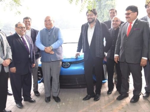Toyota India Exhibits Its Clean & Green Mobility Solutions In New Delhi