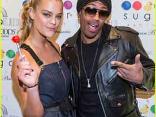 Mariah Carey & Nick Cannon Have a Family Dinner With Monroe & Moroccan