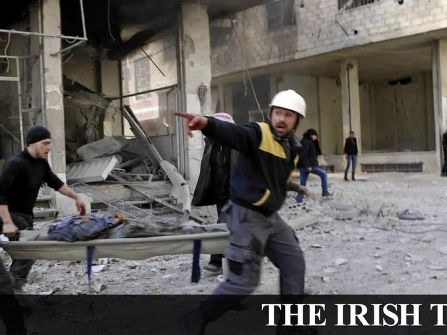 Syria conflict: Ghouta bombings leave 'at least 274 dead'