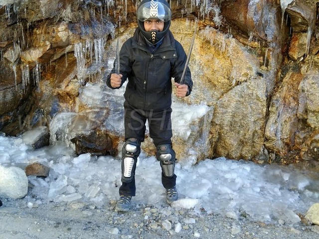 20 year old BCA student completes Spiti circuit on his 125cc scooter