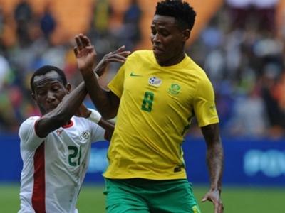 Bafana Bafana midfielder Bongani Zungu ready to give his all against Libya