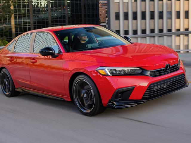 2022 Honda Civic sedan and hatchback earn Top Safety Pick+ rating