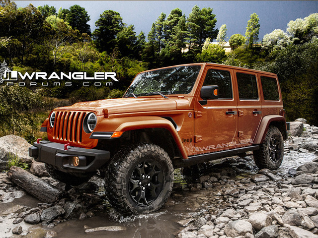 2018 Jeep Wrangler Owner's Manual Leaked