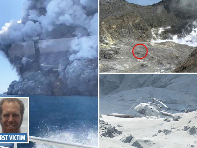 New Zealand volcano eruption – Brit women among 31 injured as 5 dead and cops warn no more survivors will be found