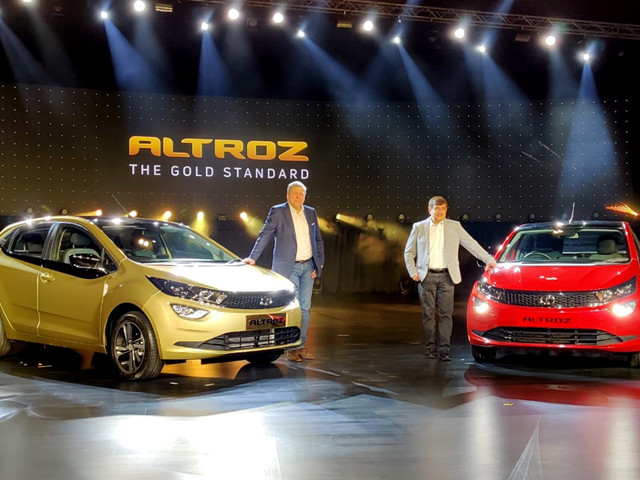Tata Altroz launched at Rs 5.29 lakh