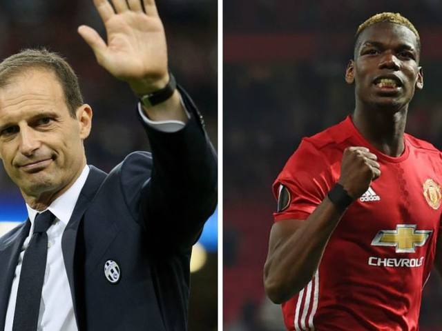 Massimiliano Allegri 'did nothing' to stop Paul Pogba making Manchester United transfer