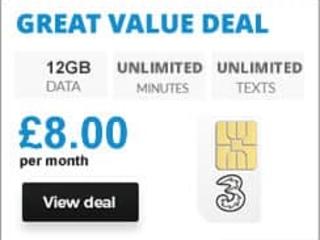 Free Three SIM Card - Order online