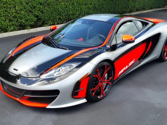 Barrett-Jackson Hidden Gems: 2012 McLaren MP4-12C High Sport Chassis 9