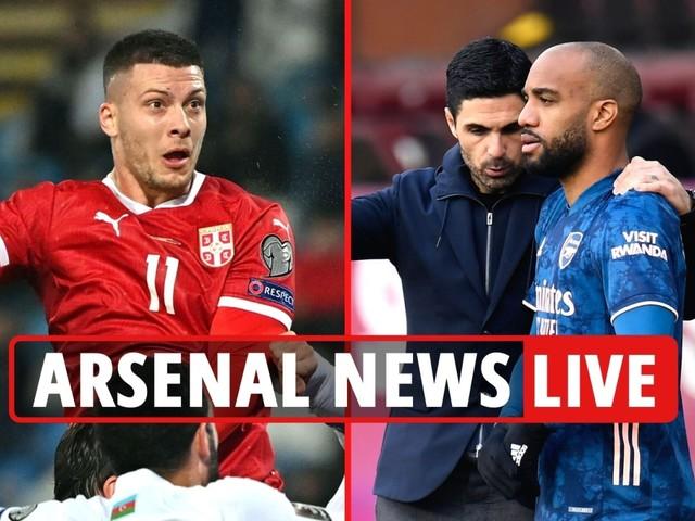 Arsenal news LIVE: Luka Jovic transfer LATEST Lacazette 'to snub deal', Wilshere reaction to retirement talk