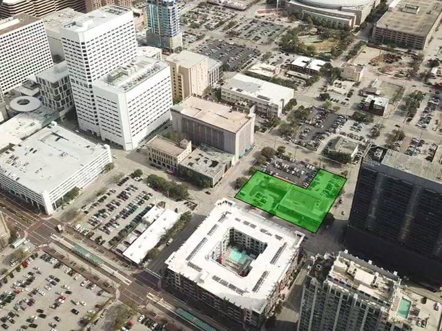 New park aims to reclaim more green in downtown Houston