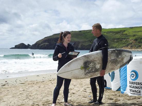 Drug-resistant bacteria risk for surfers