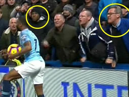 Chelsea notify police after identifying man who appeared to racially abuse Raheem Sterling