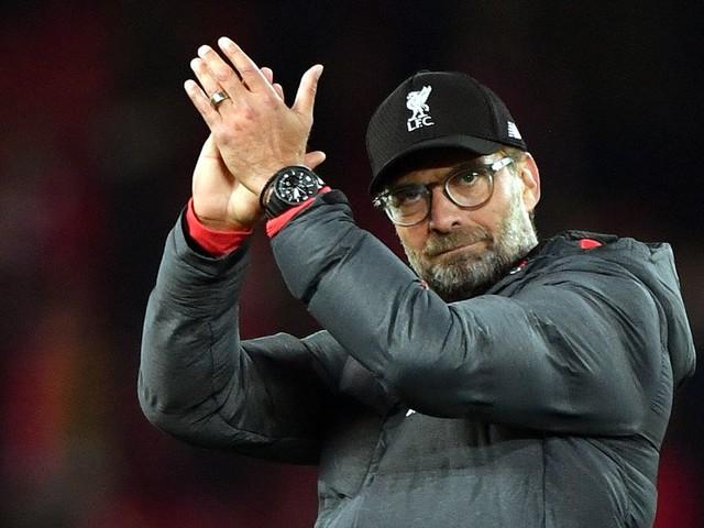 Jurgen Klopp named Premier League manager of the month for September