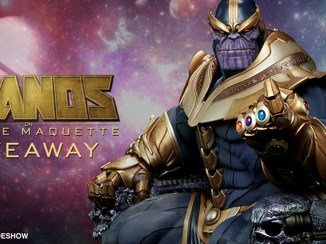 Win An Exclusive and Rare Thanos on Throne Maquette