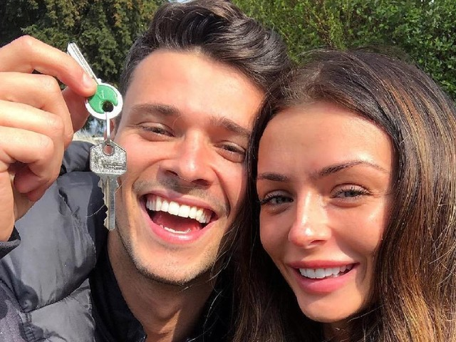Kady McDermott and Myles Barnett are 'on a break' despite spending thousands transforming bungalow into four bed house