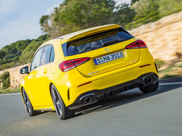Mercedes-AMG A 35 2019 review